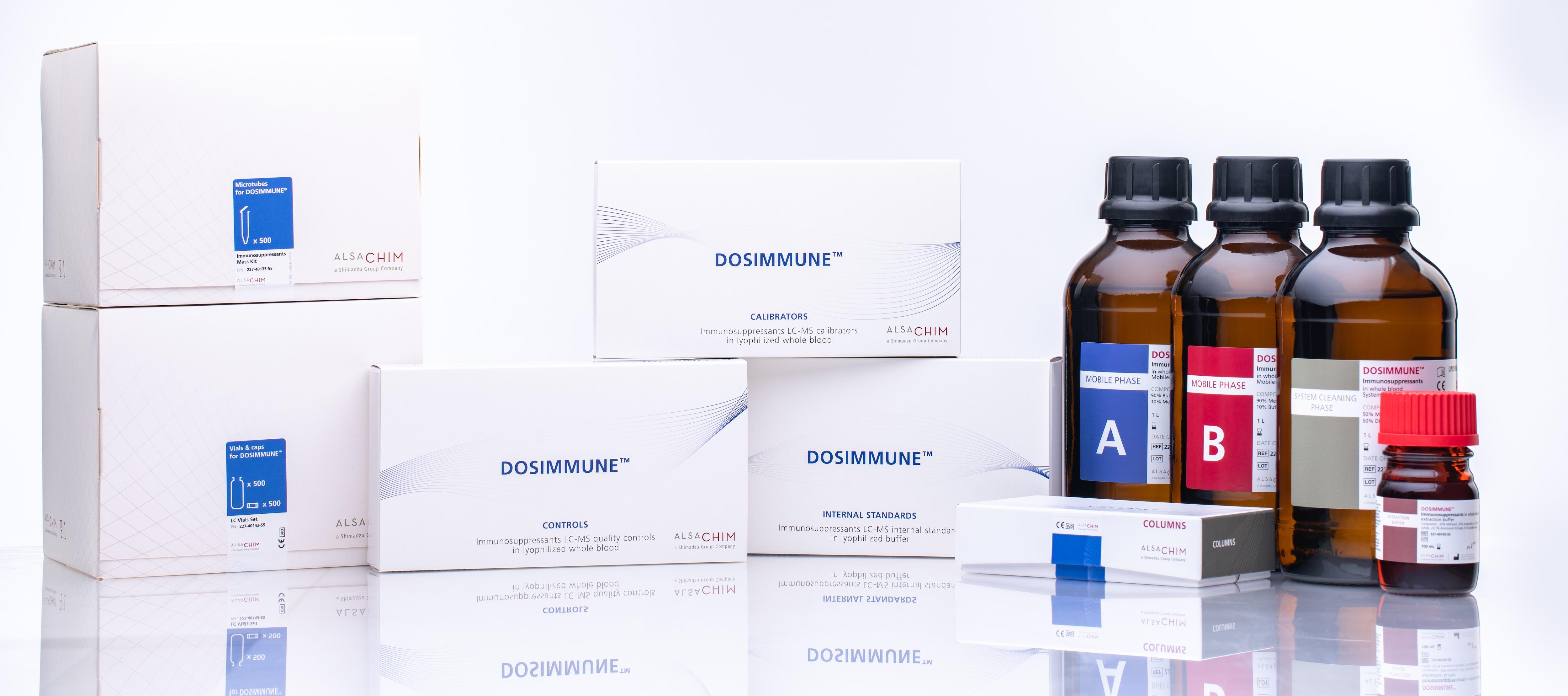 DOSIMMUNE:LC-MS/MS 用免疫抑制剤分析キット : 株式会社島津製作所