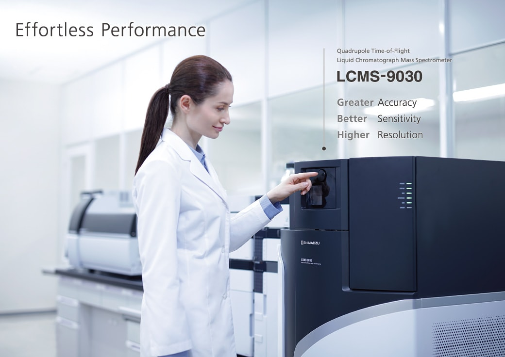 Effortless Performance LCMS-9030